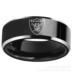 Jewelry - Oakland Raiders Stainless Steel Rings